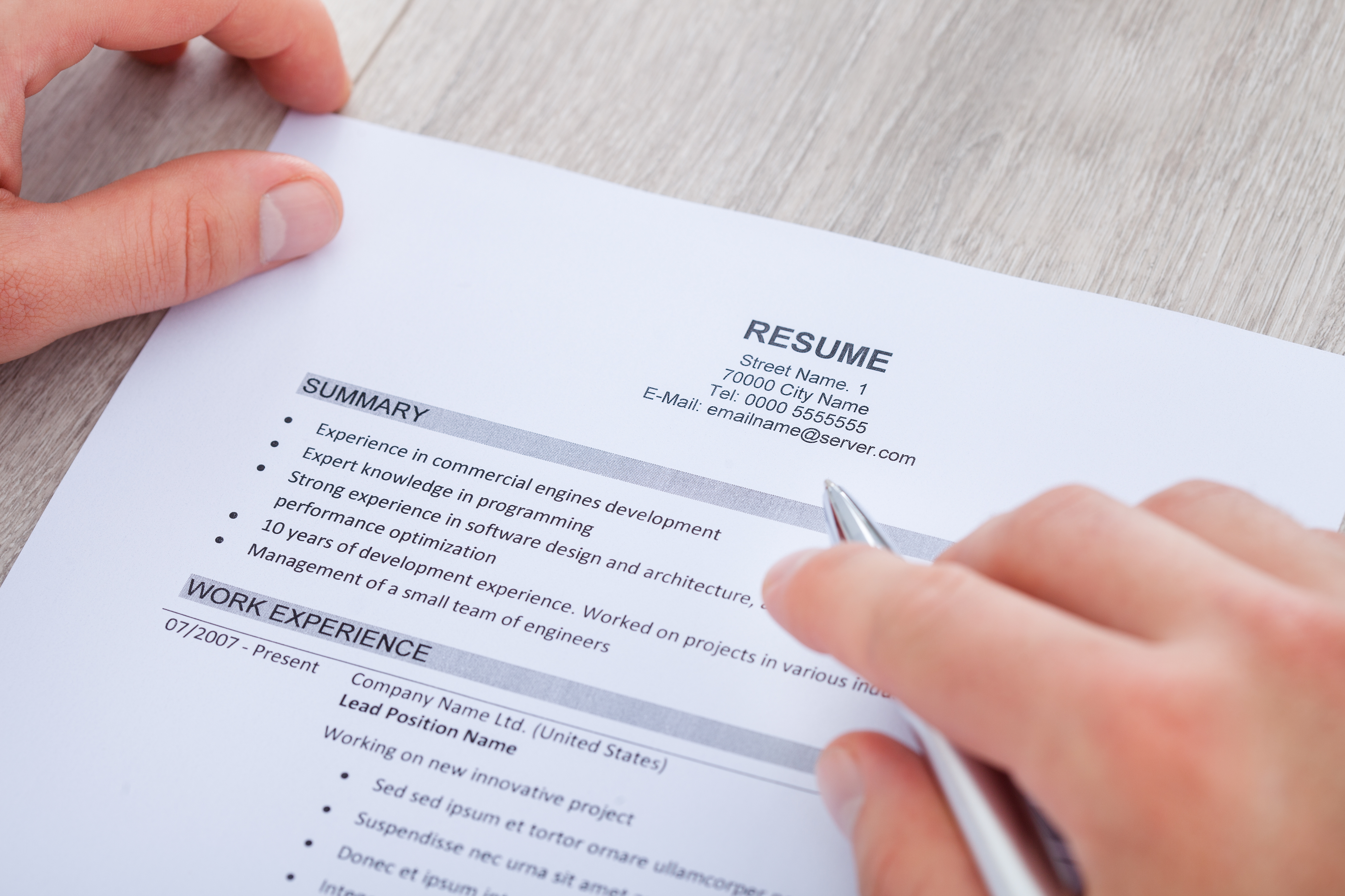 Professional resume services online victoria bc