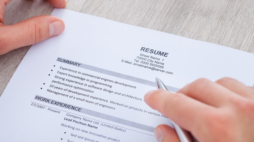 cv writing tips - Resume Writing Group
