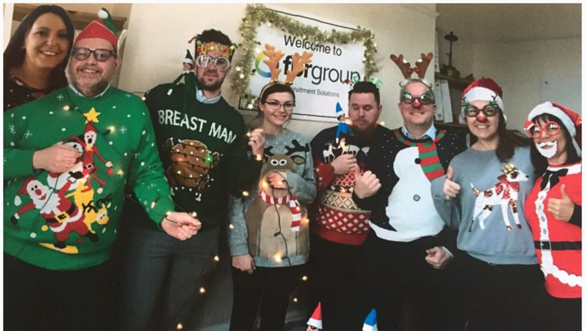 Christmas Jumper Charity Winners
